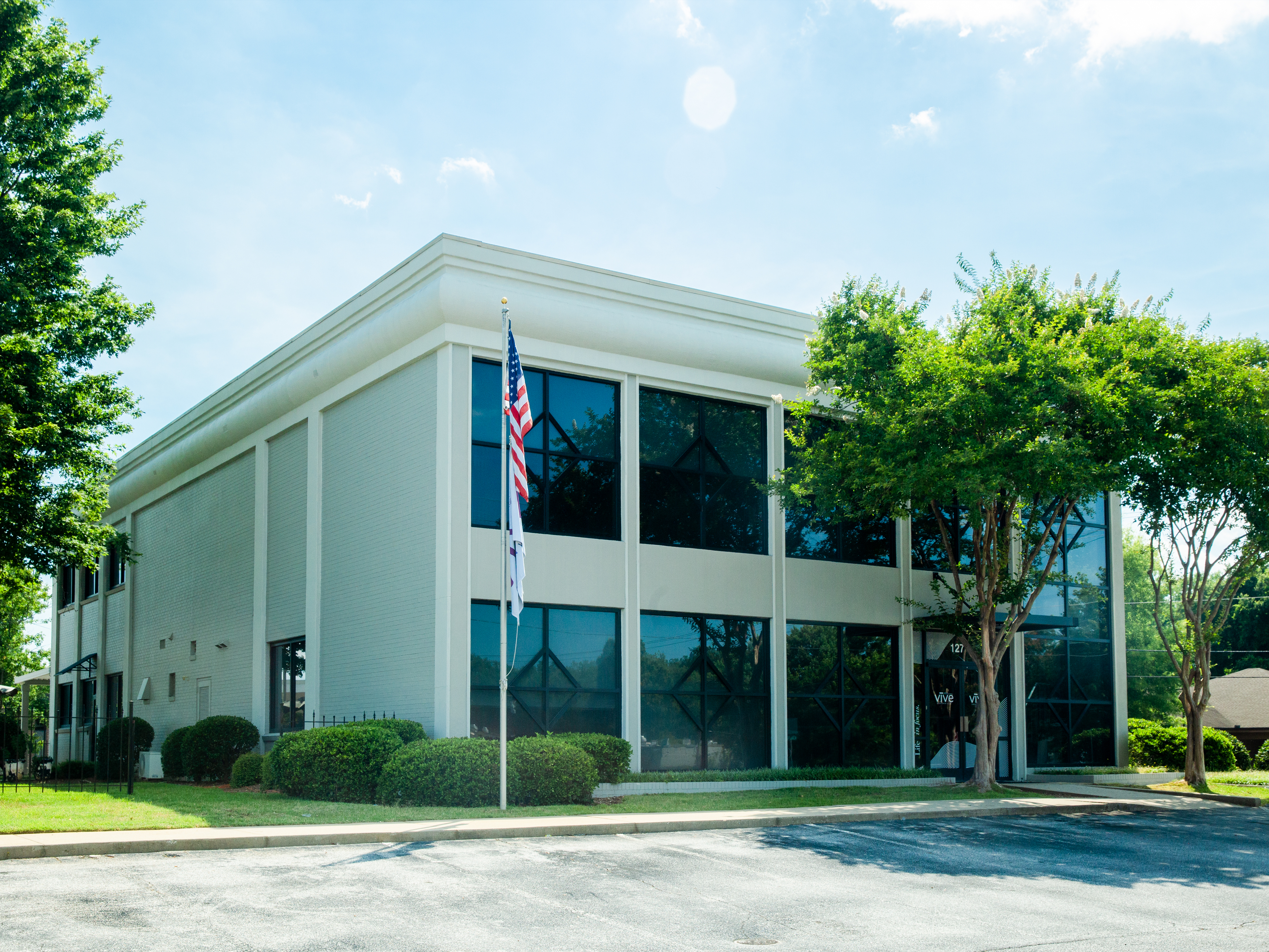a picture of the vive greenville psych office